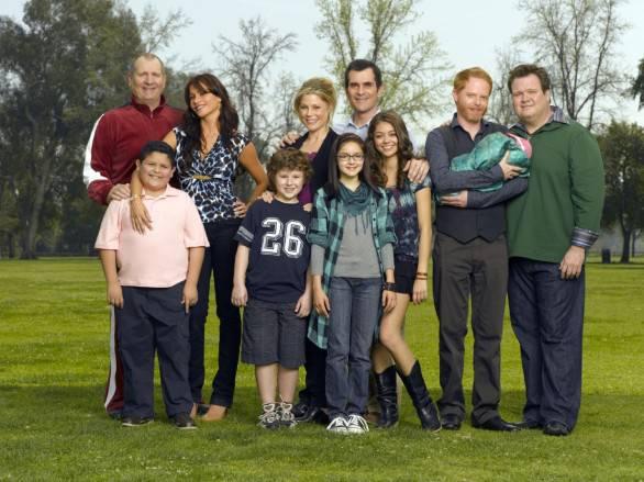 """Immagine della serie televisiva """"Modern family"""""""
