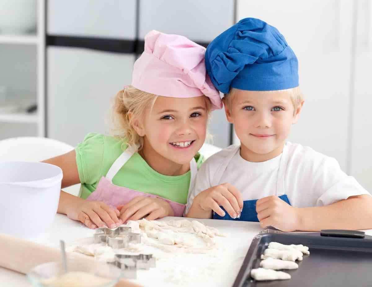 pasta di sale bambini