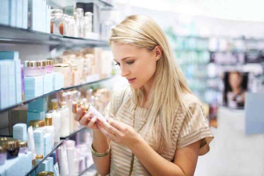 etichetta prodotti cosmetici
