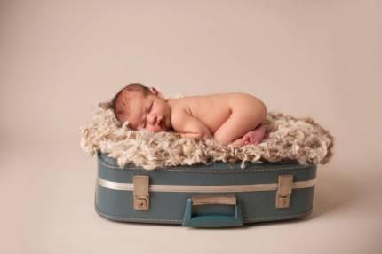 Borsa con neonato