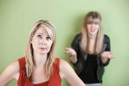 mamma e figlia adolescente