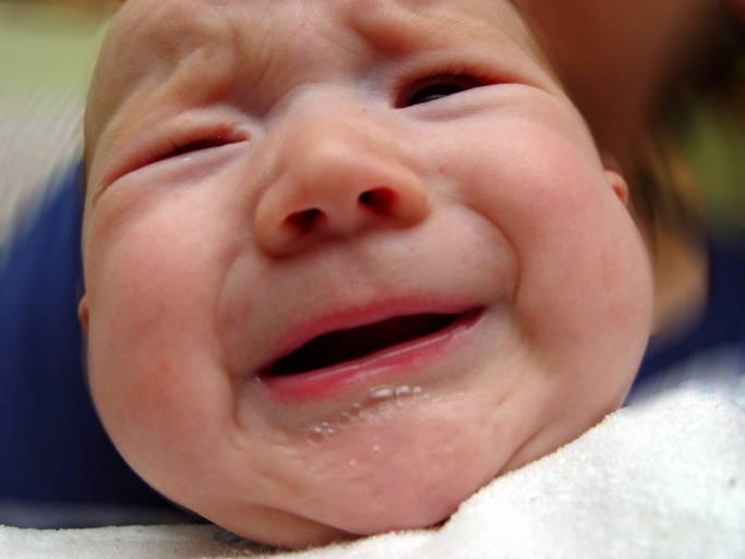 neonato con coliche