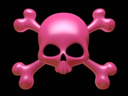 Simbolo dei pirati rosa