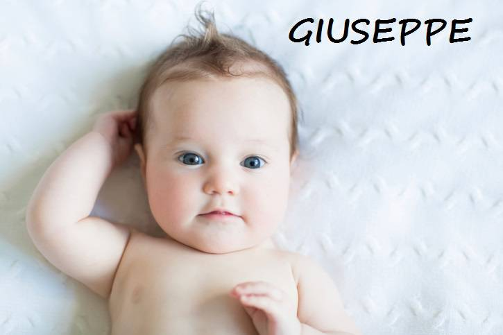 bambino di nome Giuseppe