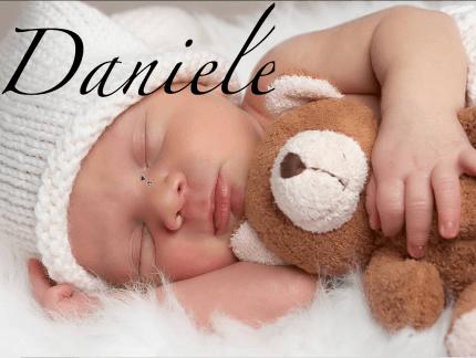 Nome bambino Daniele
