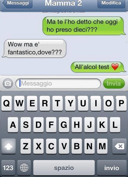 alcoo test sms