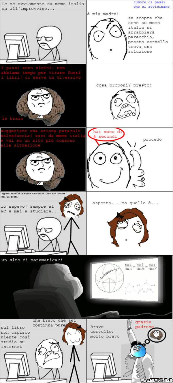 vignetta arriva mamma