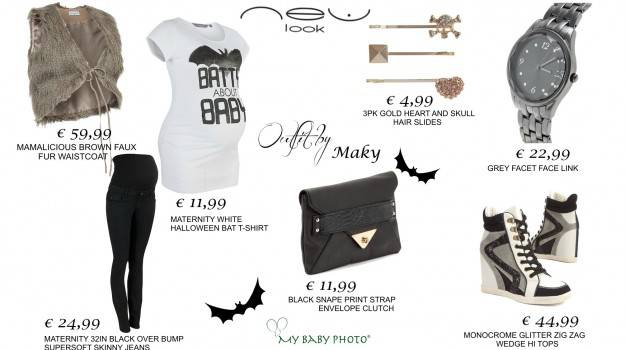 Outfit premaman per Halloween