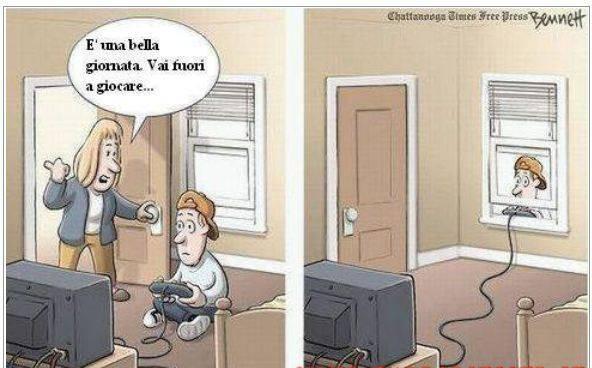 vignetta videogiochi