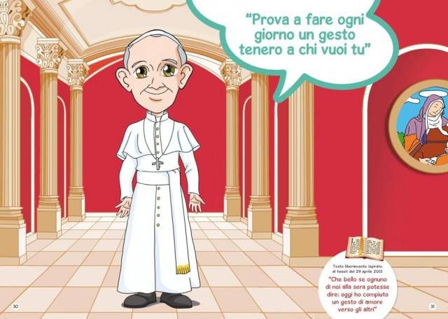 Papa: Francesco dà suggerimenti ai bambini