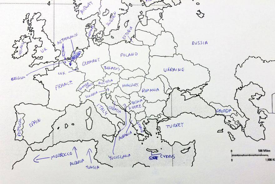 Europa vista dagli americani