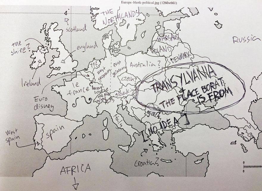 gli americani non conoscono l europa