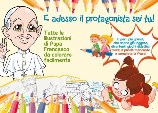 papa francesco e i bambini