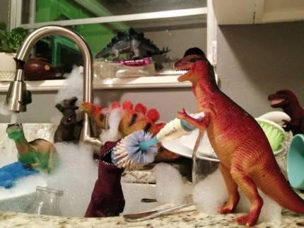 dinosauri prendono vita
