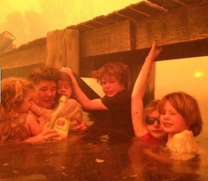 incendio in australia