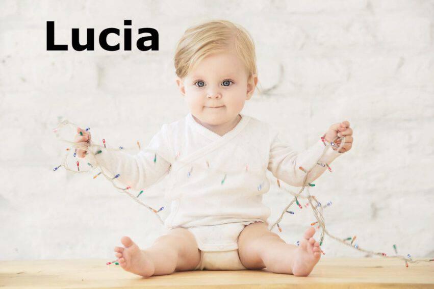 bambina nome lucia