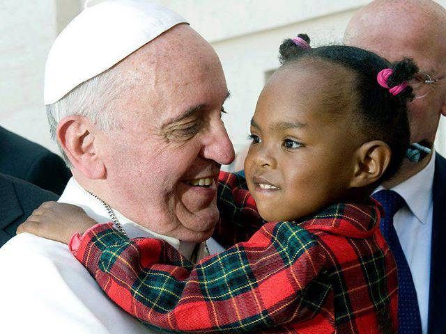 Un bambino e il papa 7