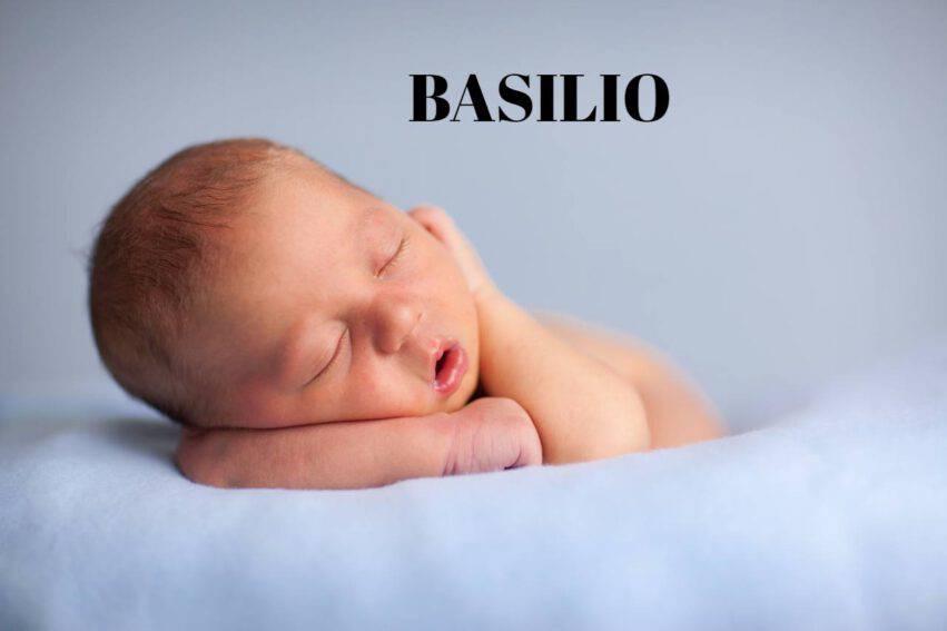bambino nome basilio