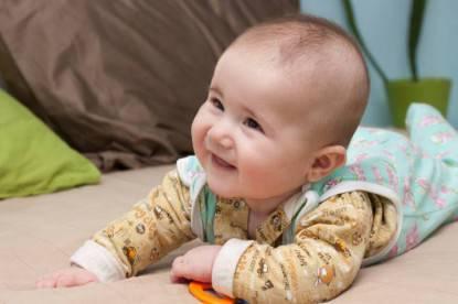 Bambino sorride