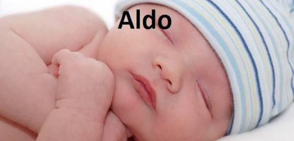 Nomi, significati, onomastici: oggi si festeggia Sant'Aldo