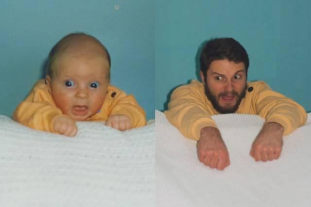 bambino e adulto