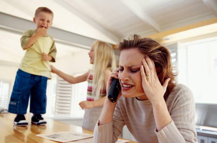 stress in famiglia