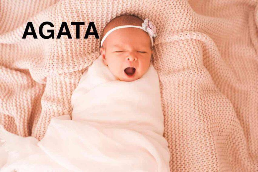 bambina nome agata