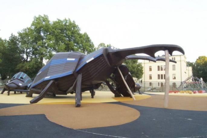 Parco pubblico a Kristineberg