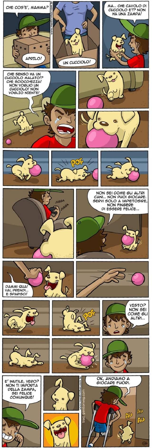 vignetta cagnolino specialie