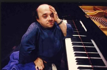 Michel Petrucciani al pianoforte