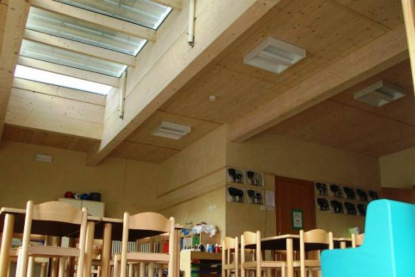 Scuola in legno