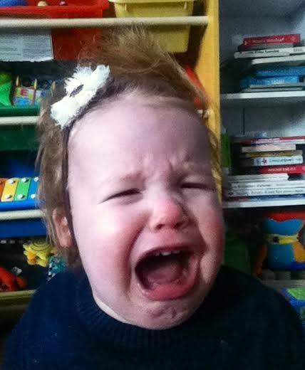 bimba piange