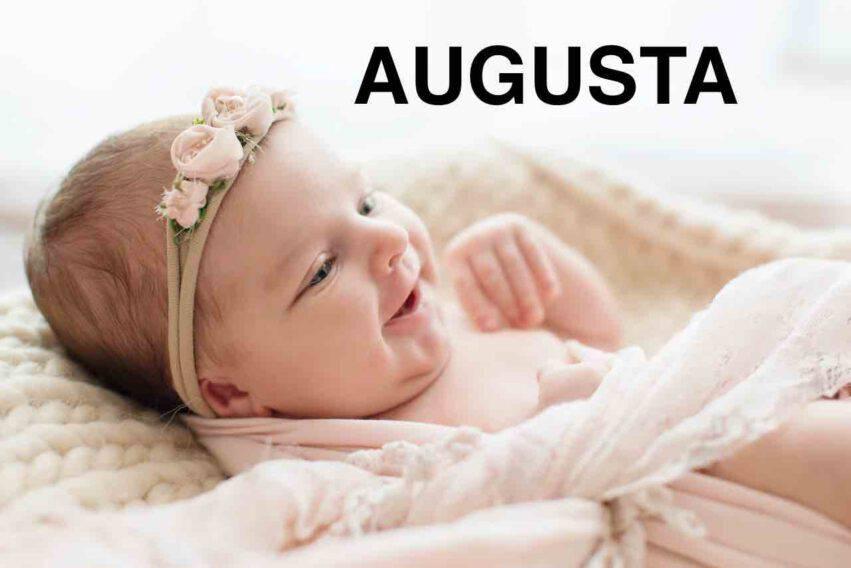 bambina nome augusta