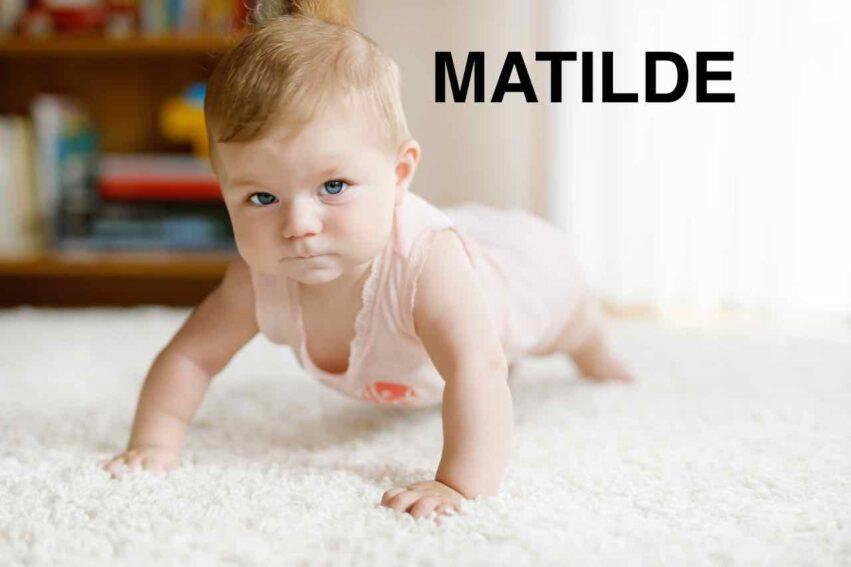 BAMBINA NOME MATILDE