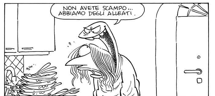 Lucrezia: fumetto di una casalinga perseguitata dalla tuta e non solo