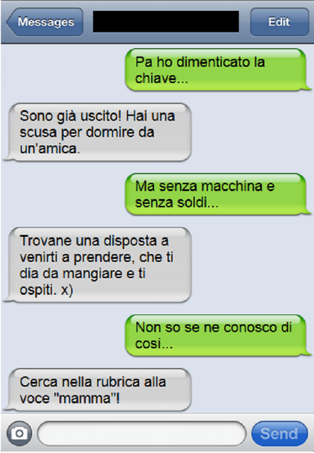 sms amica speciale