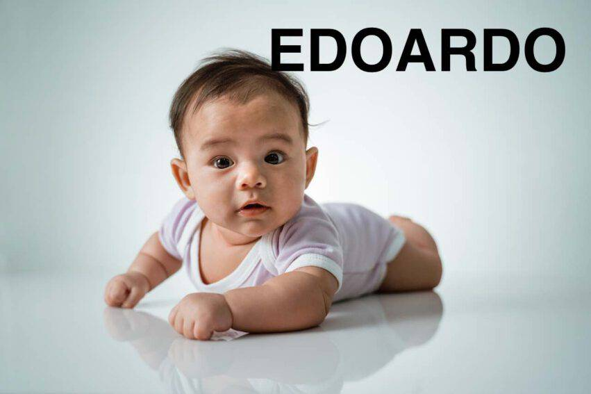 bambino nome edoardo