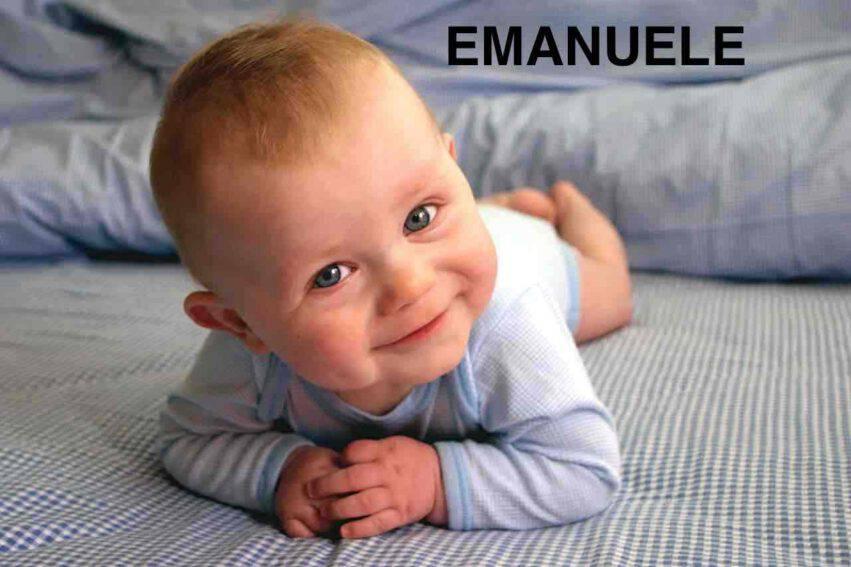 bambino nome emanuele