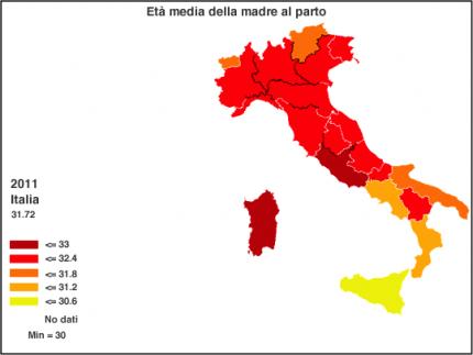 parti-cesarei-in italia regione per regione