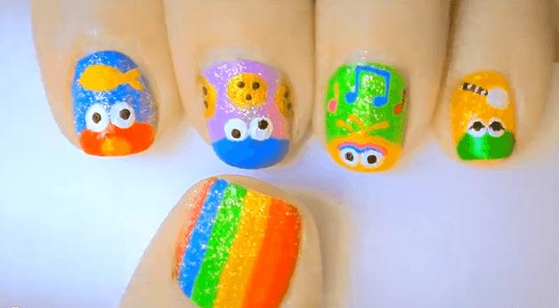 muppets nail art