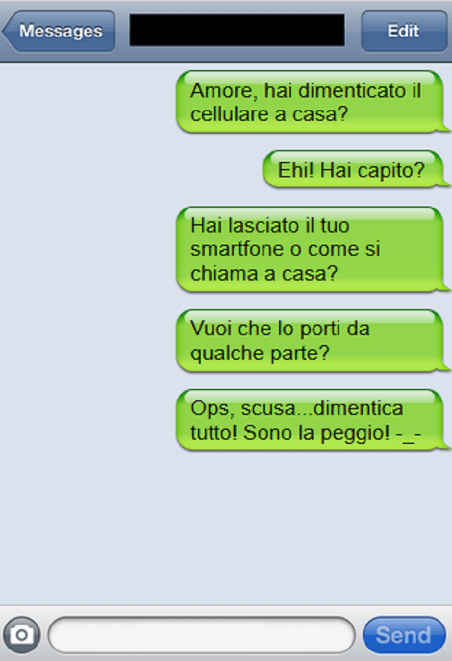 sms cellulare