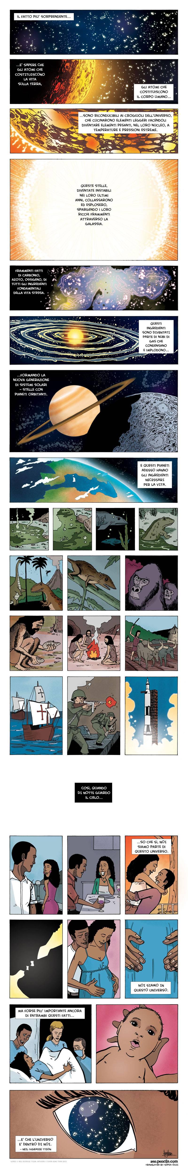 vignetta sulla creazione