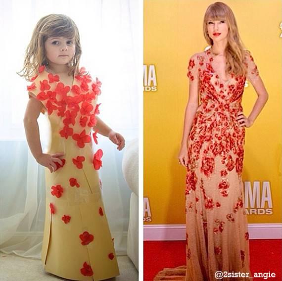 d913b00aaf35 Moda e bambini: i fantastici vestiti di una stilista in erba di soli ...
