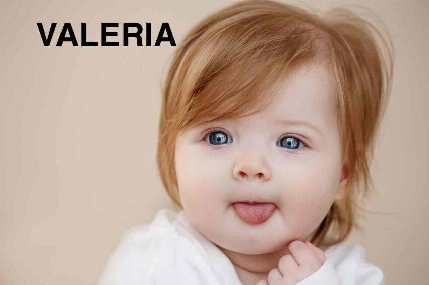 bambina nome Valeria