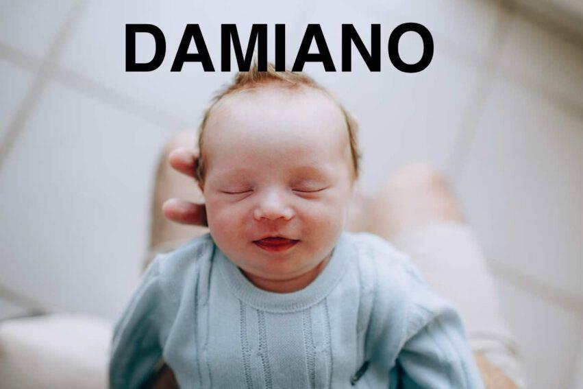 bambino nome damiano