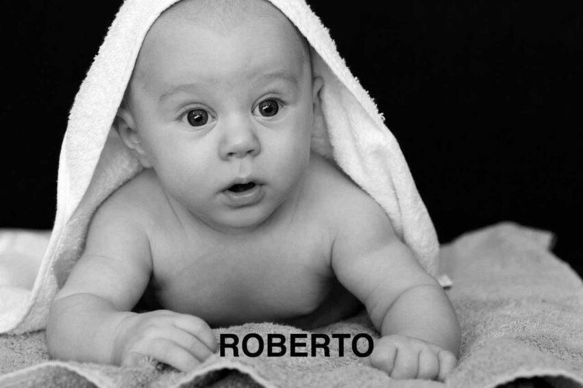 BAMBINO NOME ROBERTO