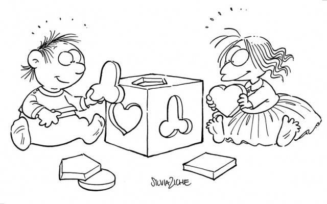 vignetta sulla casalinga lucrezia