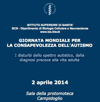 giornata autismo 2014
