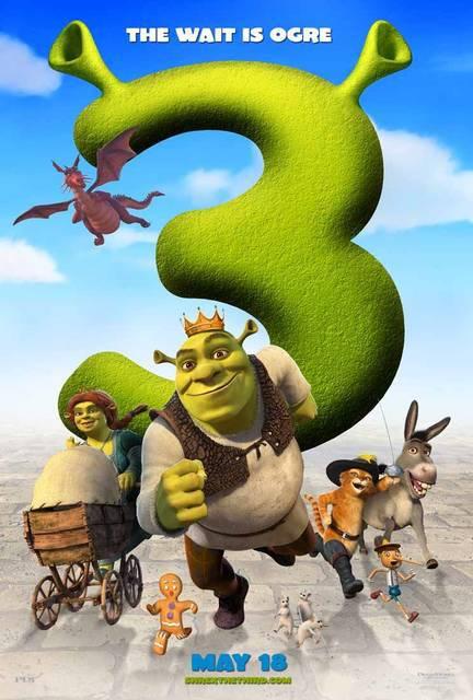 Shrek 3 locandina
