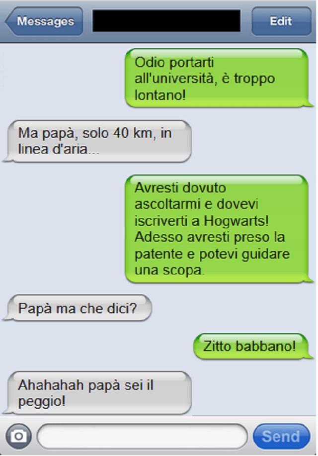 sms babbano